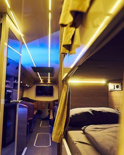 couchettes tourbus Absolute Touring France